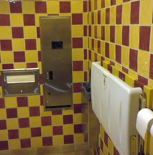 Disneyland 39 S Secret Restroom Changing Table